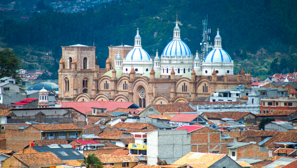 The city of Cuenca, Ecuador where Reactlab was founded in 2005