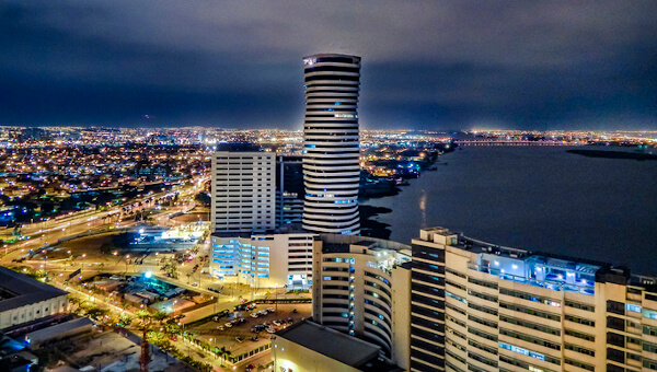 The city of Guayaquil where Reactlab is serving our customers