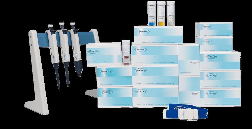 Productos de química clínica de Spinreact para laboratorios clínicos