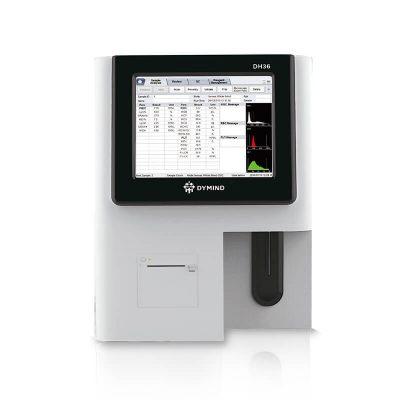 Equipo analizador hematológico de 3 diferenciales Dymind DH36 para laboratorio clínico