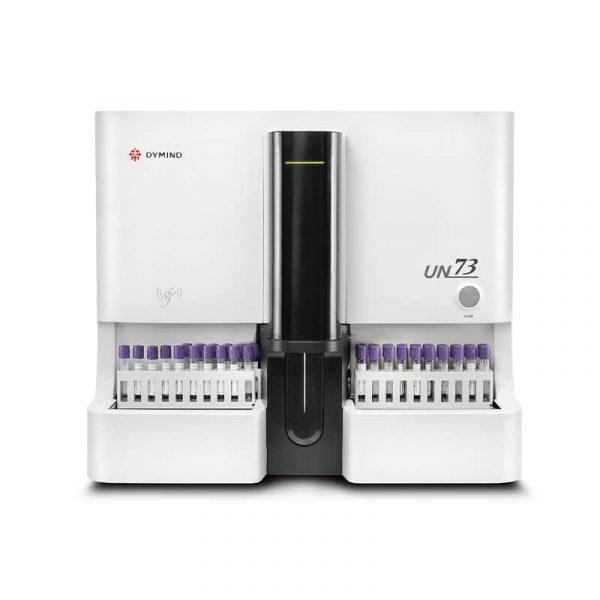 Analizador hematológico Dymind UN73 con modos de análisis de 3 y 5 partes